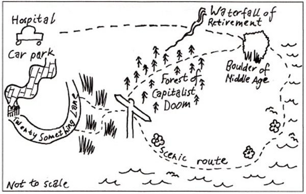 Walk of Life Map